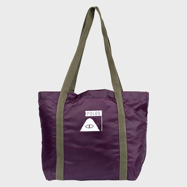 product: Poler Stuffable Tote Plum