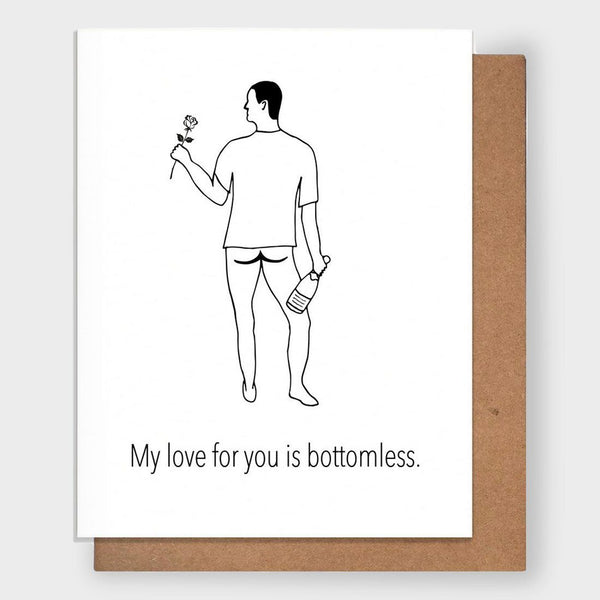 product: Pretty Alright Goods Bottomless Love Card
