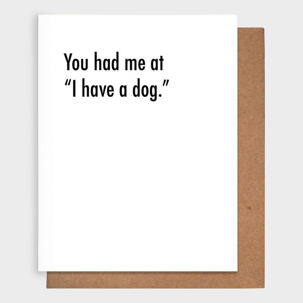 product: Pretty Alright Goods Dog Love Card