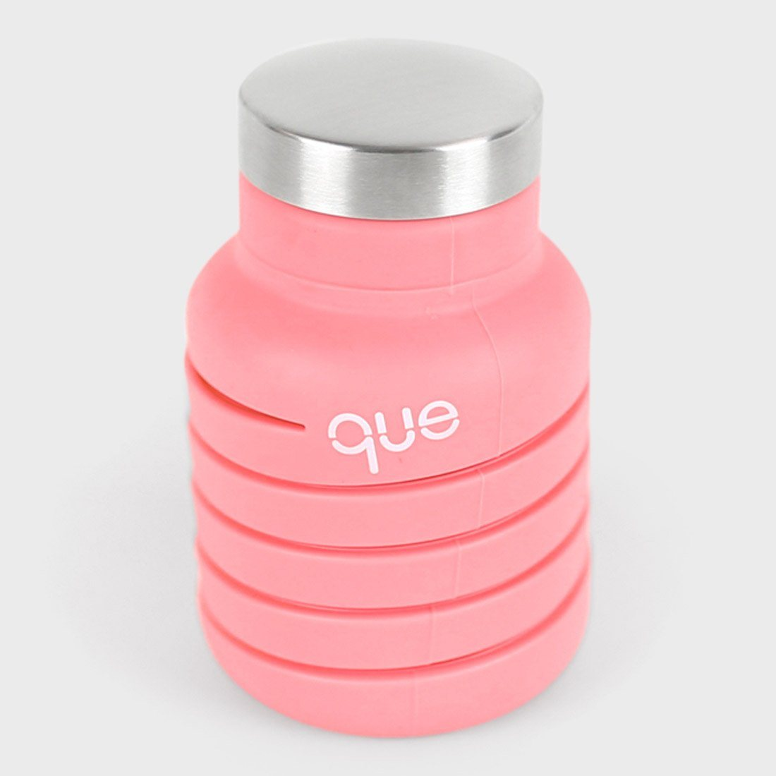 Que Bottle 12oz Coral pink