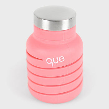 product: Que Bottle 12oz Coral pink
