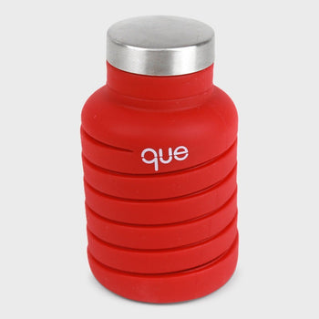 product: Que Bottle 20oz Bonfire Red