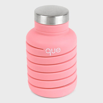 product: Que Bottle 20oz Coral Pink