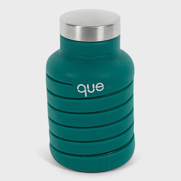product: Que Bottle 20oz Forest Green