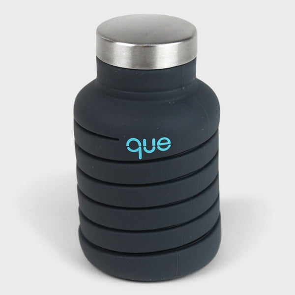 product: Que Bottle 20oz Metallic Charcoal
