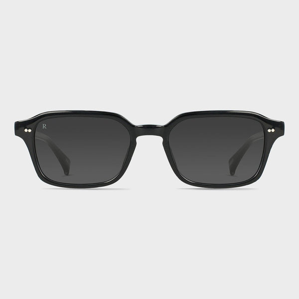 product: Raen Boyd Sunglasses Crystal Black/ Dark Smoke