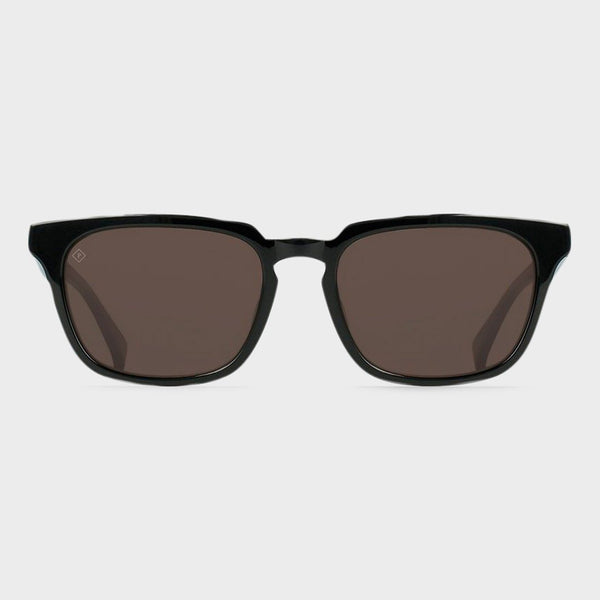 product: Raen Hirsch 52 Sunglasses Crystal Black/ Smoke Brown Polarized