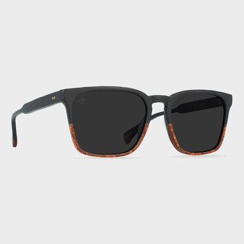 product: Raen Pierce Sunglasses Burlwood/ Black Polorized