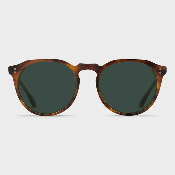 product: Raen Remmy 52 Sunglasses Split Finish Rootbeer/ Green