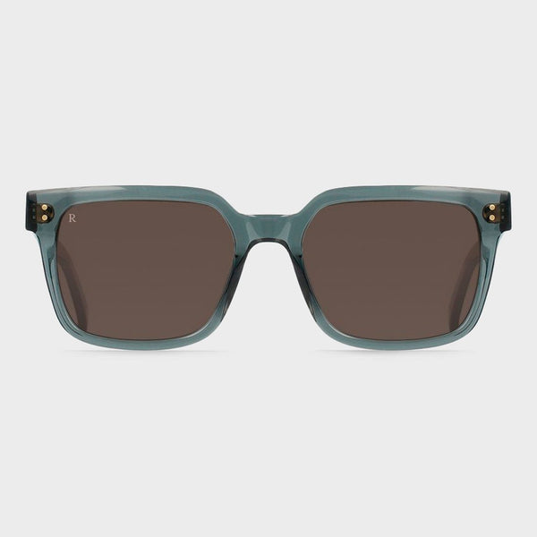 product: Raen West 55 Sunglasses Slate/ Smoke Brown