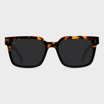 product: Raen West 55 Sunglasses Tamarin / Dark Smoke
