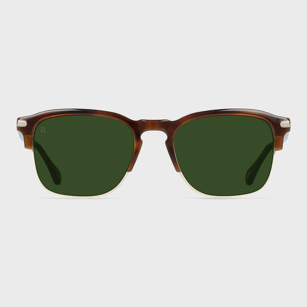 product: Raen Wiley Alchemy Sunglasses Americano/ Bottle Green