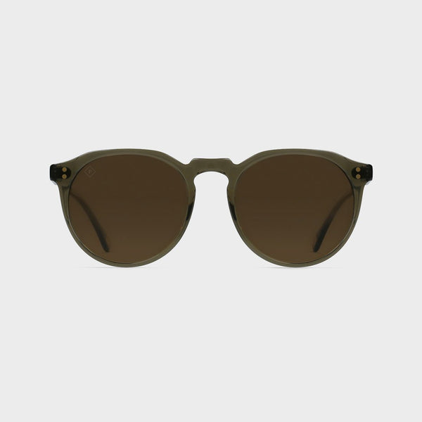 product: Raen x Topo Collab Remmy Sunglasses Crystal Brown/ Polarized