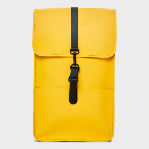 product: RAINS Backpack Yellow