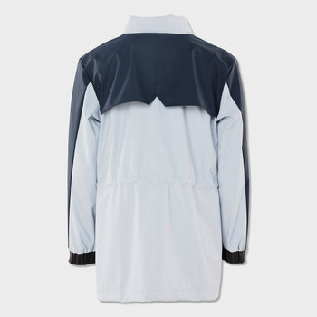 product: RAINS Color Block Track Suit Jacket Ice Grey/Blue