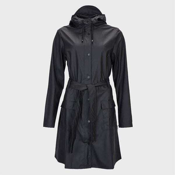 product: RAINS Curve Jacket Black