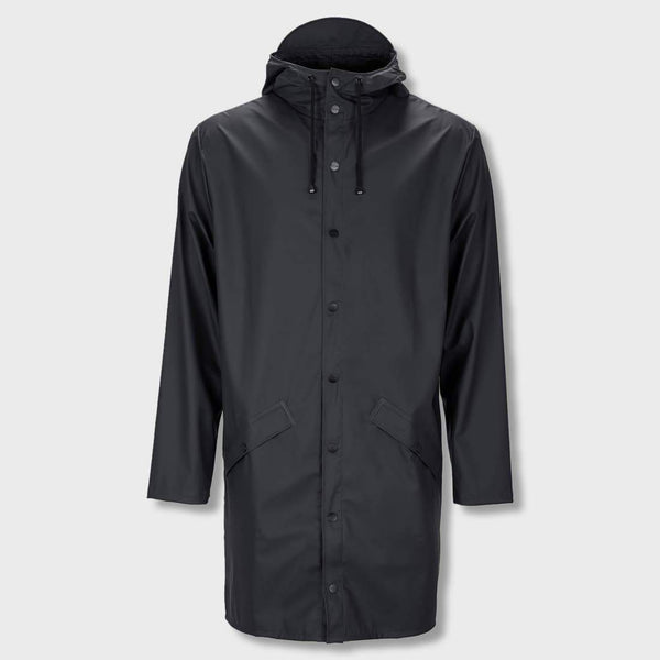 product: RAINS Long Jacket Black