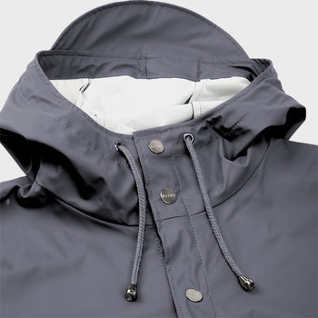 product: RAINS Unisex Long Jacket Smoke