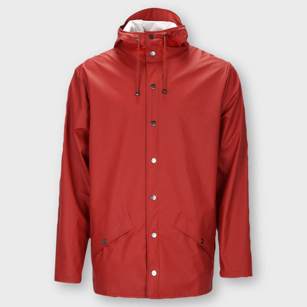 product: RAINS Jacket Scarlet