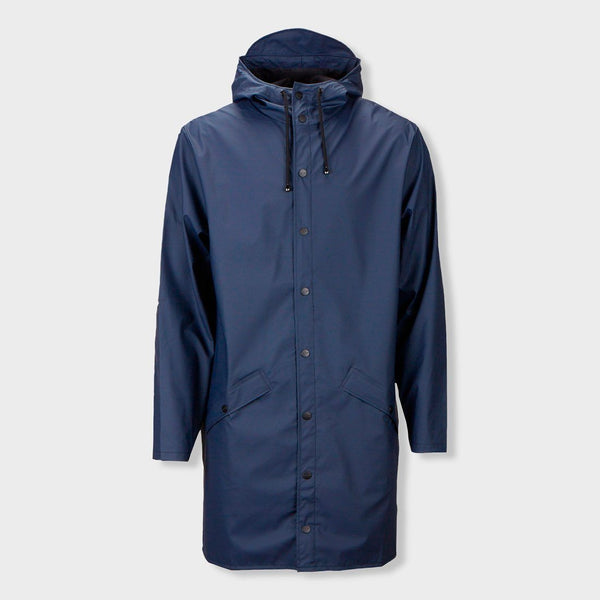 product: RAINS Unisex Long Jacket Blue