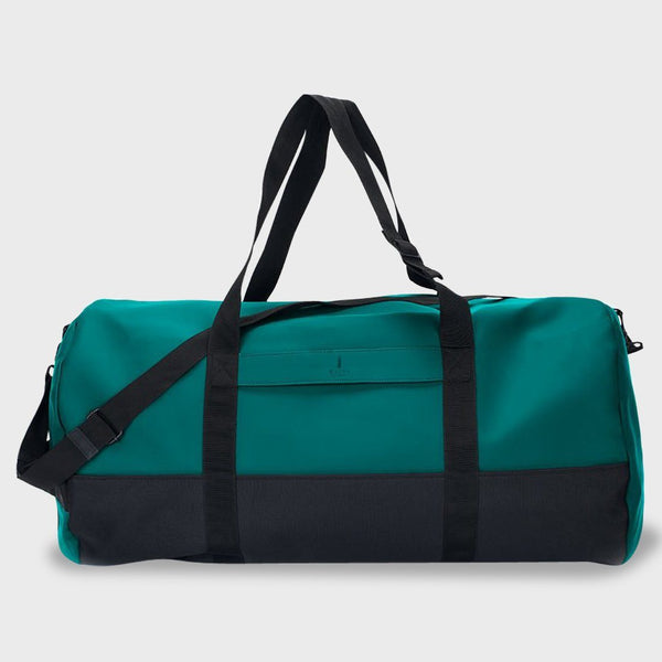 product: RAINS Travel Duffel Teal
