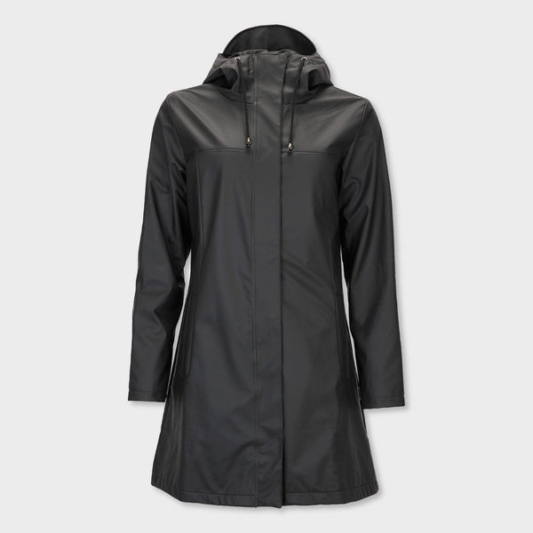 product: RAINS Women's Firn Jacket Black