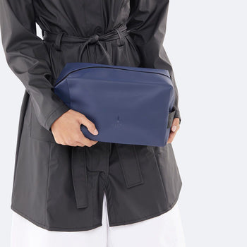 product: RAINS Washbag Large Blue