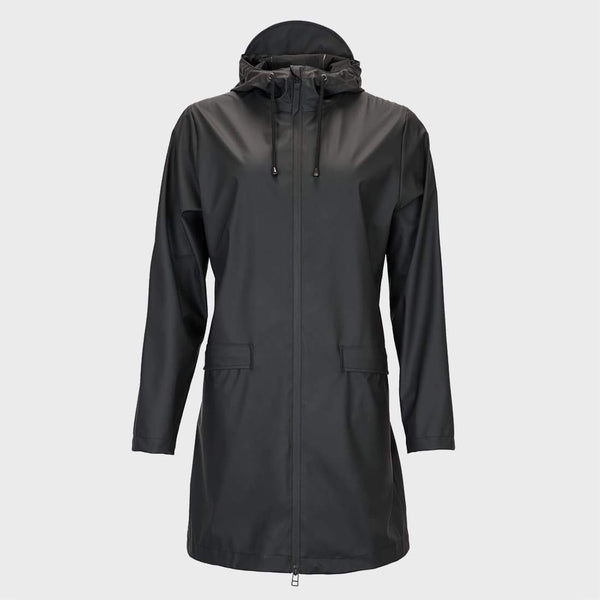 product: RAINS Women's Coat Black