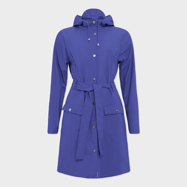 product: RAINS Curve Jacket Lilac