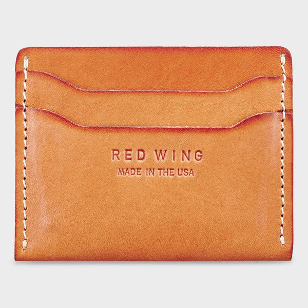 product: Red Wing Card Holder Natural Tan