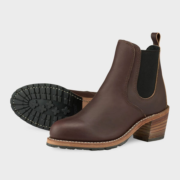 product: Red Wing Women's Harriet Mahogany