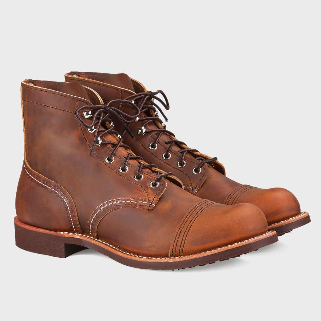 Red Wing Iron Ranger Copper