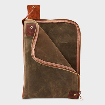 product: Red Wing Large Wacouta Gear Pouch Copper / Tan