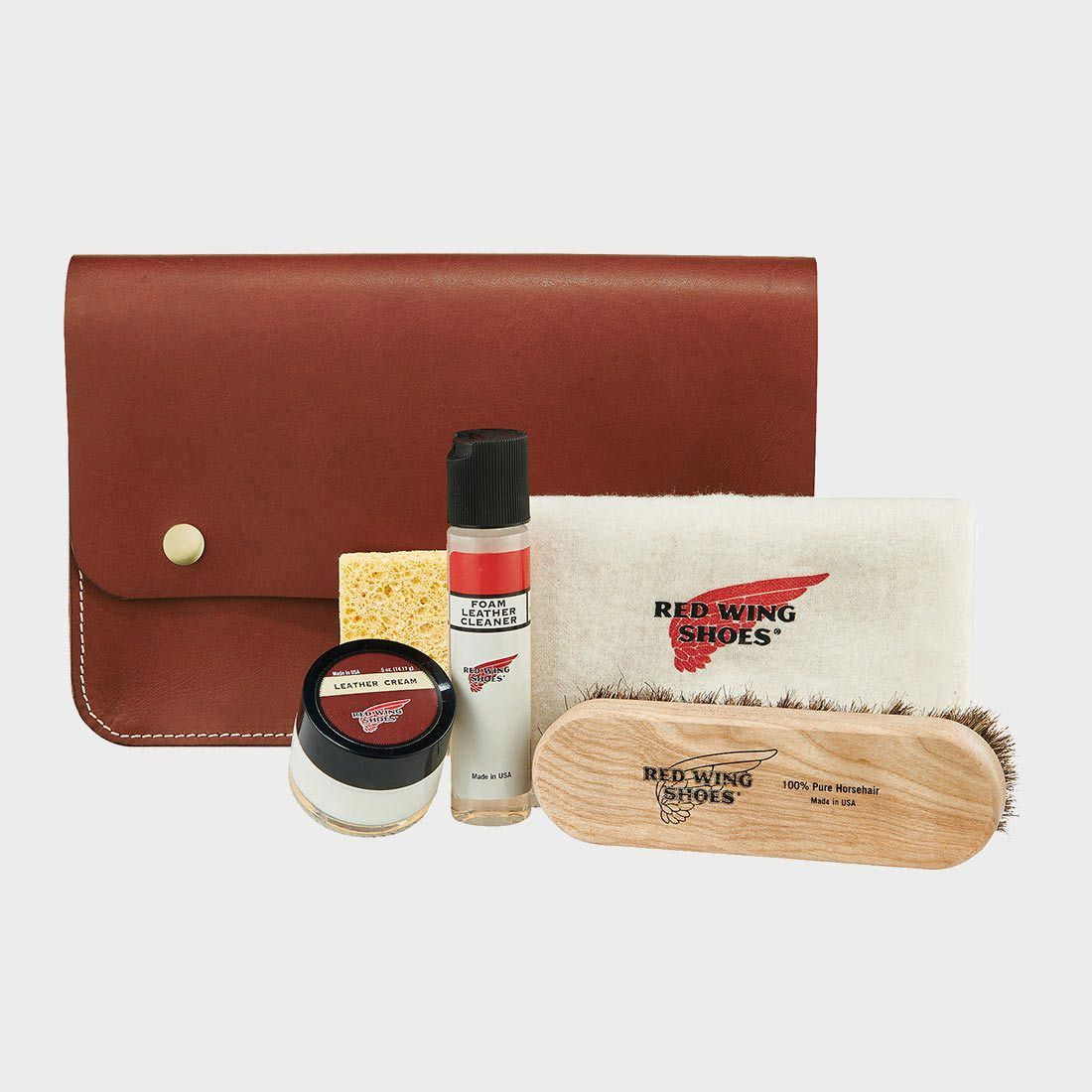 Red Wing Leather Travel Care Kit