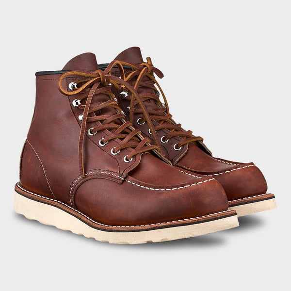 c09e350974661 product: Red Wing Limited Edition 6-Inch Classic Moc Oro Harness