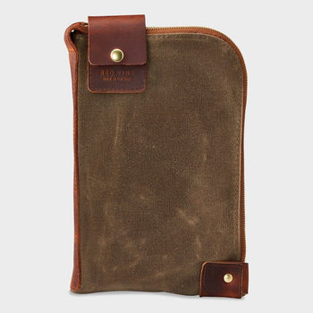 product: Red Wing Small Wacouta Gear Pouch Copper / Tan