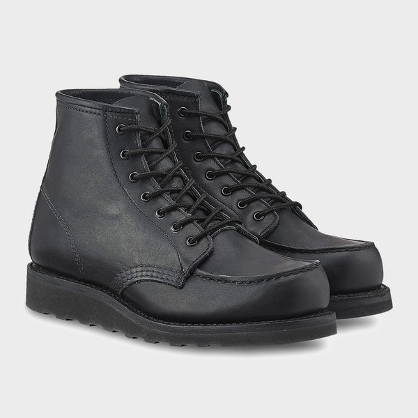 product: Red Wing Women's 6-inch Moc 3380 Black/ Black Boundry