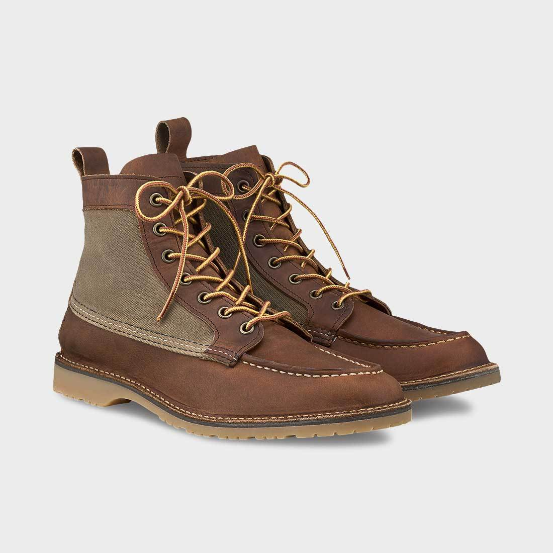 Red Wing Wacouta 6-Inch Moc Copper/Tan