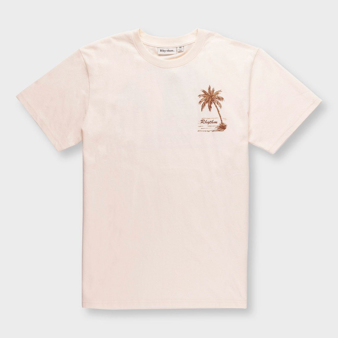 Rhythm Bahamas T-Shirt Natural White