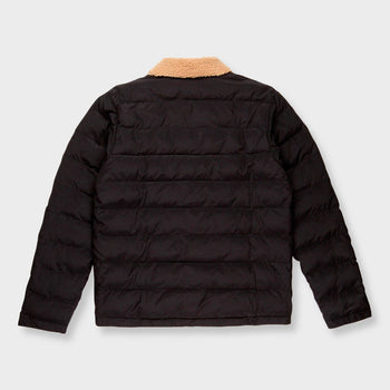 product: Rhythm Bora Quilted Jacket Black