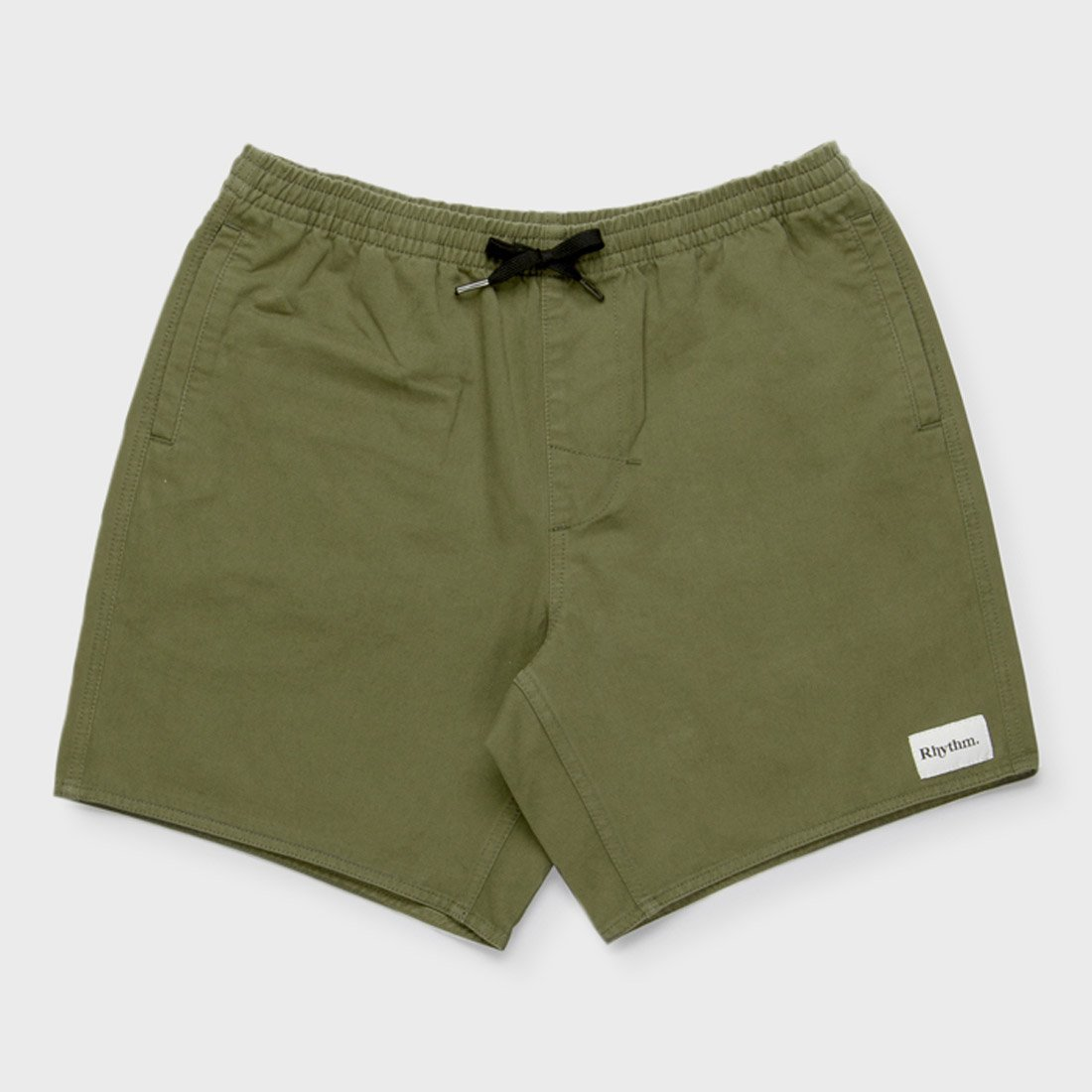 Rhythm Box Jam Short Olive
