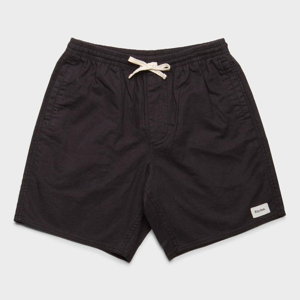 product: Rhythm Linen Jam Shorts Charcoal