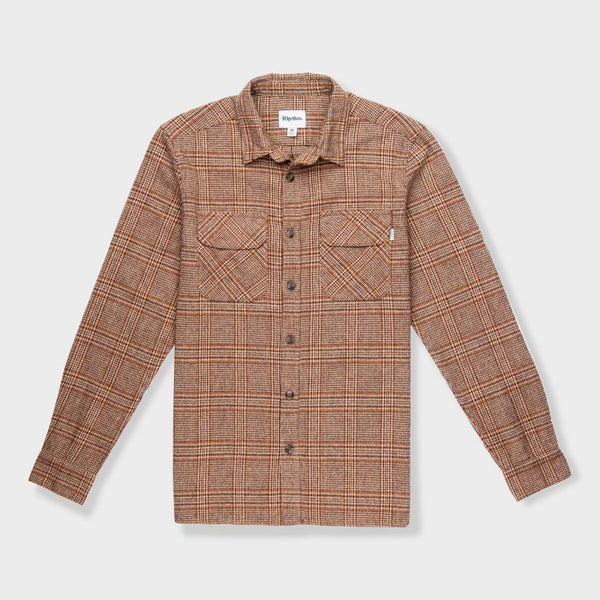 product: Rhythm Overwinter Shirt Coffee