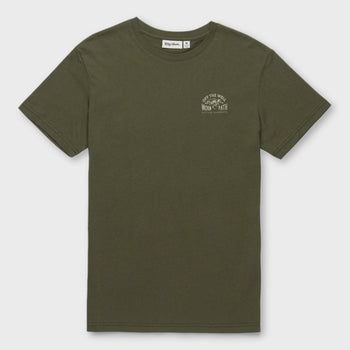 product: Rhythm Well Worn T-Shirt Olive