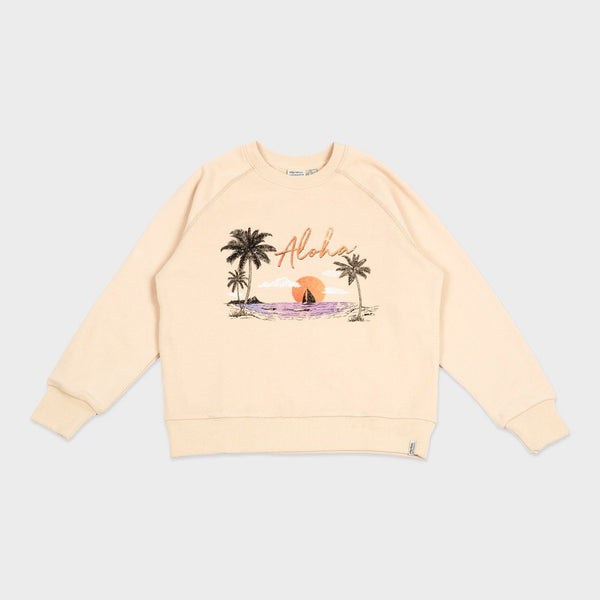 product: Rhythm Women's Aloha Pullover Butter