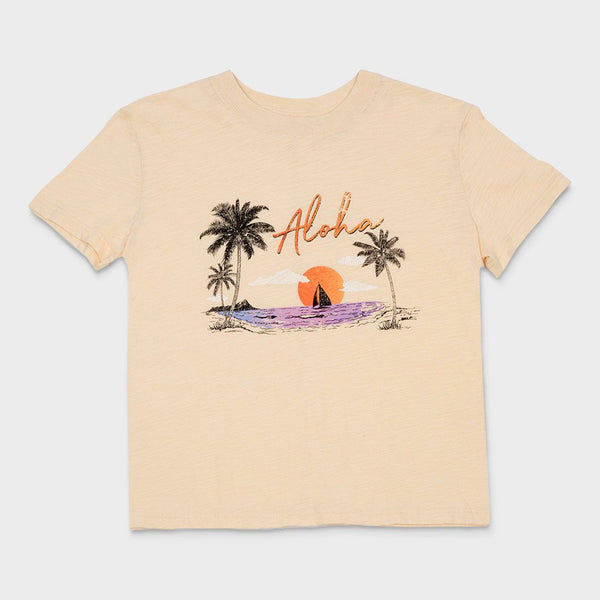 product: Rhythm Women's Aloha T-Shirt Butter
