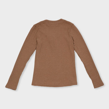 product: Rhythm Women's Amber LS Top Sand