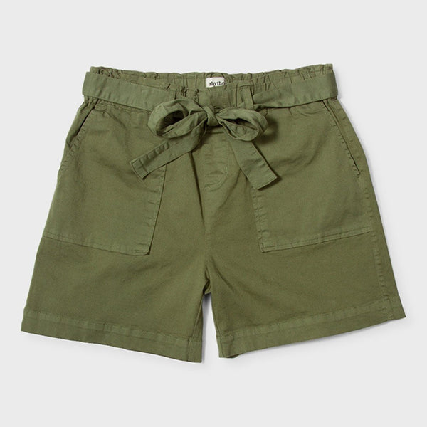 product: Rhythm Women's Safari Short Moss