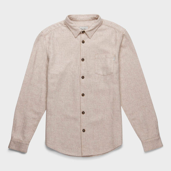 product: Rhythm Wool Shirt Ivory