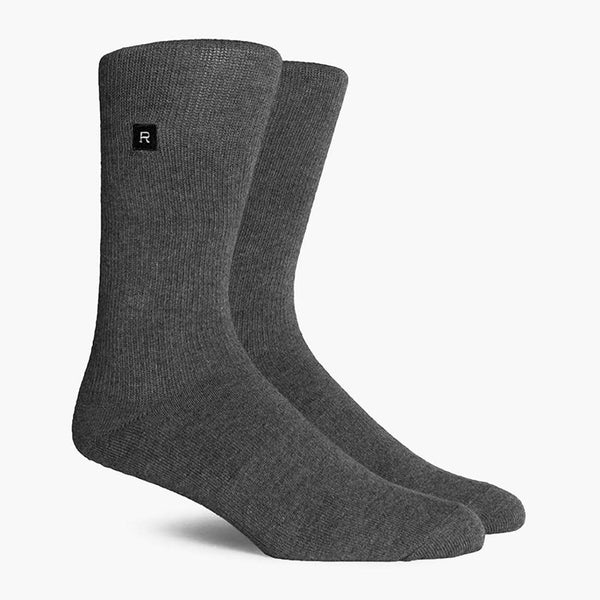 product: Richer Poorer Base Crew Sock Charcoal